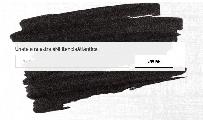 Newsletter militancia atlantica
