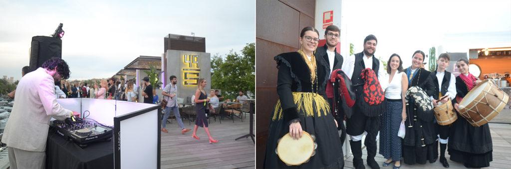 Música en la apertura de Arallo Mallorca y 49 Steps